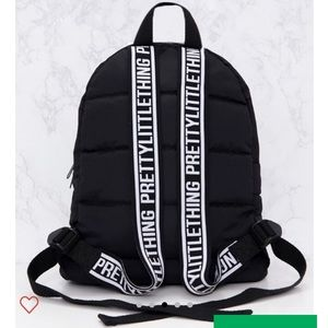 431f295d08 PrettyLittleThing Bags - PrettyLittleThing black backpack. Nwt.